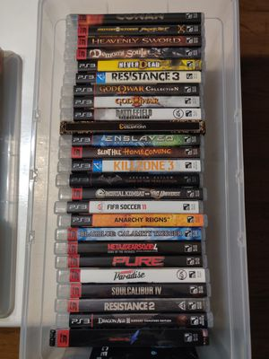 PS3 GAMES for Sale in Hayward, CA