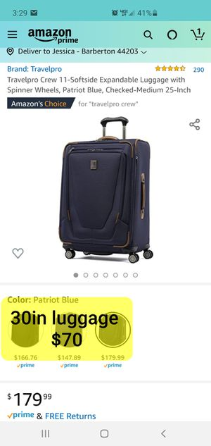 Luggage for Sale in Akron, OH