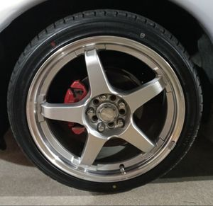 18in Universal racing rims for Sale in Easley, SC