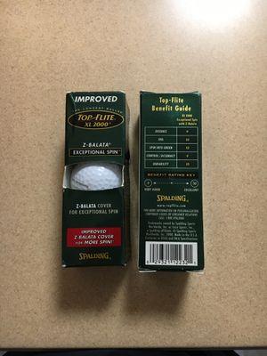 Golf balls $3 per box of 3 for Sale in SeaTac, WA