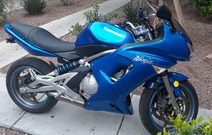 SELL KAWASAKI NINJA 650R 2007, CLEAN TITLE, VERY GOOD CONDITIONS, LOW MILES. for Sale in Las Vegas, NV