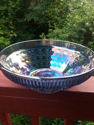 Antique Indiana Windsor Carnival Glass bowl for Sale in Atlanta, GA
