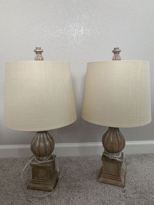Two table lamp for Sale in Lakewood, CO