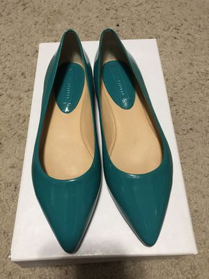 Women's Size 6 Banana Republic Teal Flats New for Sale in Sanger, CA
