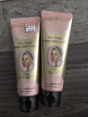 Joah skin polish peel off mask charcoal k-beauty $3 each for Sale in San Bernardino, CA