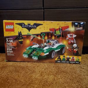 Lego Batman Movie Set 70903 The Riddler's Chase for Sale in Los Angeles, CA