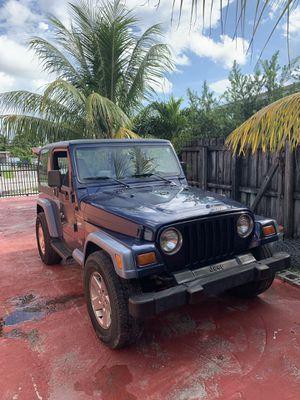Jeep Wrangler TJ for Sale in Miami, FL