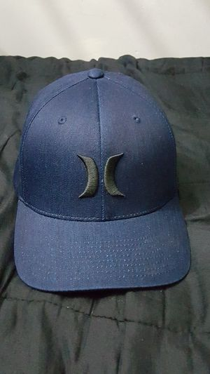 HURLEY FLEX FIT HAT SIZE SMALL/MEDIUM LIMITED EDITION DARK NAVY BLUE BRAND NEW WITH OUT TAGS SERIOUS BUYER'S MAKE ME AN OFFER for Sale in Huntington Park, CA