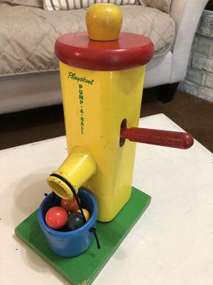 Vintage Playskool PUMP-A-BALL $30 FIRM for Sale in Minnetonka, MN
