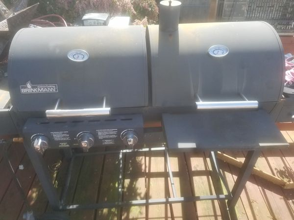 Bbq double side propane
