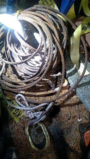 3/4 inch loggin cable for Sale in Tacoma, WA