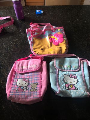 Hello Kitty bags for Sale in Tampa, FL