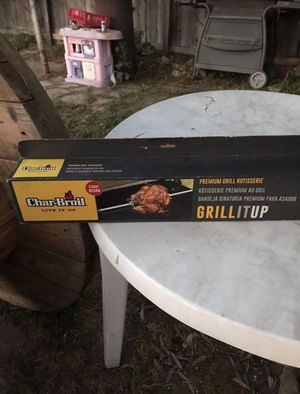 New Charbroil Char-Broil Universal Fit Grill Premium Electric Rotisserie for Sale in Fresno, CA