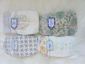 Natural brand size 1 diapers, 4 brands 5 pieces each, total 20 pieces for Sale in Lynnwood, WA