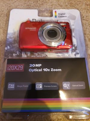 Polaroid i20X29 Digital Camera 20 Mega Pixels 10x Optical Zoom for Sale in Raleigh, NC