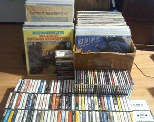 Record/Vinyl, Cassette and CD lot for Sale in Pomona, CA