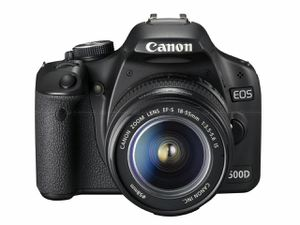 Canon EOS Rebel T1i 15.1 MP CMOS Digital SLR Camera with 3-Inch LCD and EF-S 18-55mm f/3.5-5.6 IS Lens for Sale in HALNDLE BCH, FL