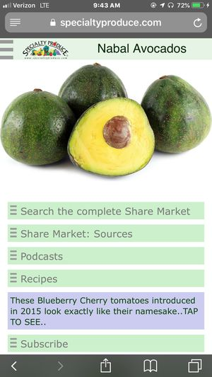 Nabal avocado tree grafted for Sale in Highland, CA