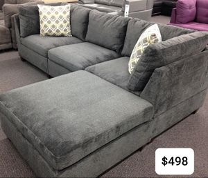 SOFA /CHAISE SECTIONAL SET GREY for Sale in Mesa, AZ