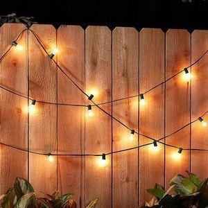 New Patio Outdoor Lights - Set of 2 50 ft (40 bulb lights) for Sale in Bellevue, WA
