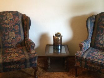 Pair Of Wing Back Chairs for Sale in Happy Valley,  OR