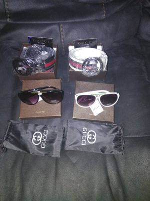 Gucci belts and glasses for Sale in The Bronx, NY