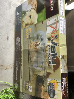 Extra Large Dog crate for Sale in Las Vegas, NV