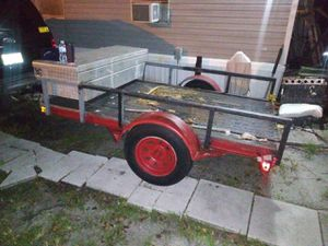 Trailer..steel.. for Sale in Kissimmee, FL