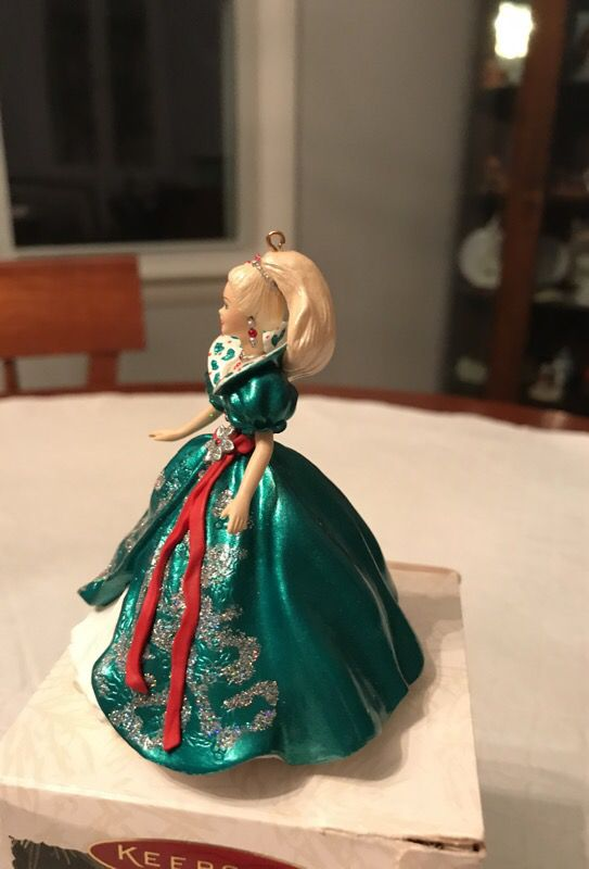 Holiday Barbie ornament