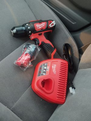 Milwaukee m12 drill set battery 1.5 and charger all new firm price or don't waiste my time for Sale in Modesto, CA
