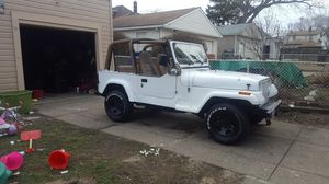 95 jeep wrangler 4x4 for Sale in Cleveland, OH