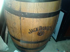 Authentic Jack Daniels whiskey barrel number 7 for Sale for sale  ROWLAND HGHTS, CA