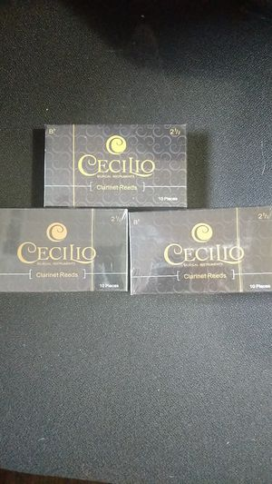 """Cecilio 2 1/2"""" Clarinet Reeds 30 pieces for Sale in Vancouver, WA"""