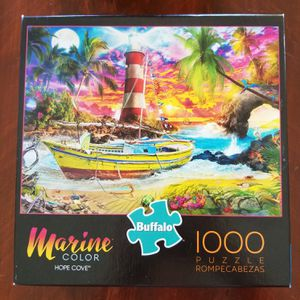 Buffalo Games Marine Color HOPE COVE Puzzle 1000 piece for Sale in VLG WELLINGTN, FL
