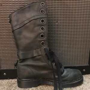Doc marten high combat boots size 9 for Sale in Denver, CO