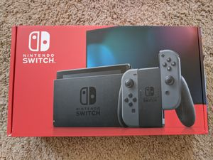 New Nintendo Switch V2 Gray for Sale in Laurel, MD