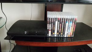 PS3 with 14 games! for Sale in Centreville, VA
