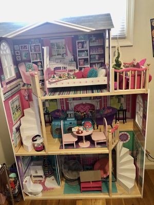 18 inch Doll house and Doll school for Sale in Chesterfield, VA