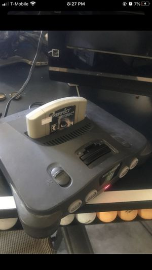 N64 with 1 game for Sale in Clovis, CA