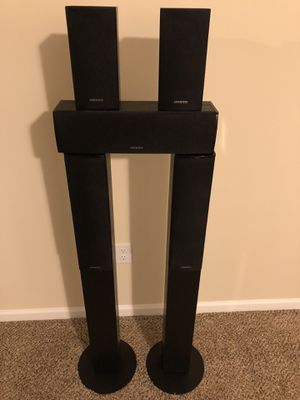 Onkyo surround sound speakers for Sale in Columbus, OH