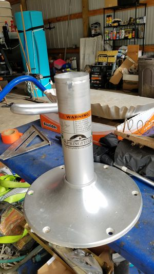 Springfield seat pedestal for boating for Sale in Union, MO