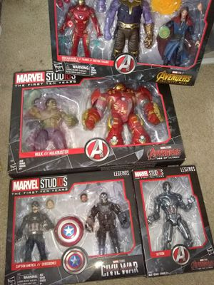 Marvel Legends 10 years for Sale in Alexandria, VA