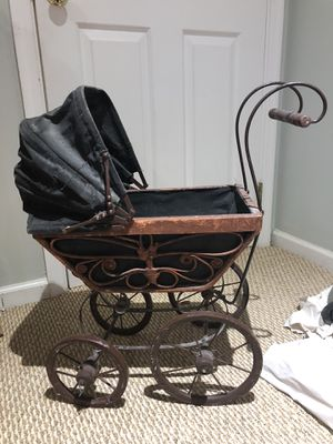 Victorian wicker/rattan doll stroller for Sale in Kensington, MD
