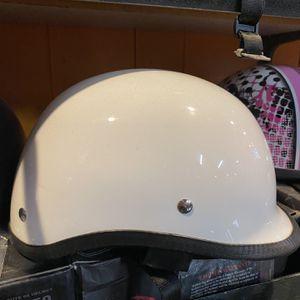 New White Jockey Polo Dot Motorcycle Helmet $50 for Sale in Whittier, CA