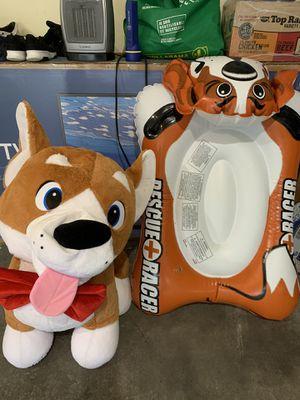 Kids stuffed animal ,rescue+racer for Sale in Renton, WA