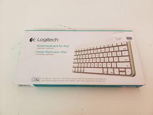 Logitech Lightning Keyboard for iPad for Sale in Seattle, WA