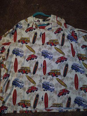 Cool Hawaiian surfboard\Woody cars Aloha shirt 5 XL for Sale in Stockton, CA
