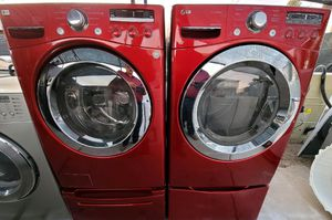 """""""LG"""" FRONTLOADER MATCHING SET WASHER & ELECTRIC DRYER ULTRA KING SIZE CAPACITY PLUS 5.2 cu ft for Sale in Phoenix, AZ"""