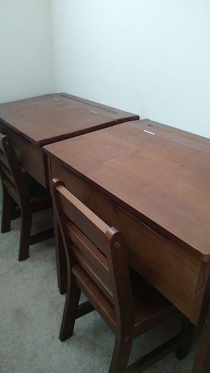Kids school desk with chair for Sale in Encinitas, CA
