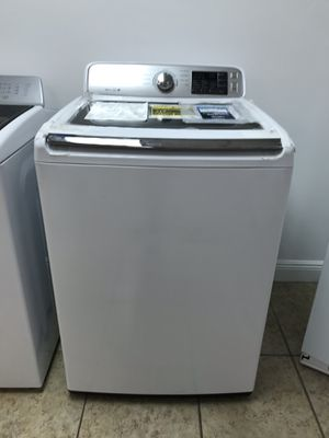 Samsung 4.5 cu. ft. High-Efficiency Top Load Washer take home for $39 down Full one year warranty for Sale in Miami, FL